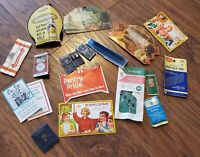Antique Advertising Sewing Needle Book Lot