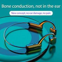 Bluetooth 5.0 Wireless Headphones Bone Conduction Earphone Outdoor Sport Headset