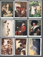 1927 Scottish C.W.S.  Famous Pictures Adhesive Tobacco Cards Complete Set of 25
