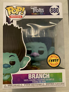 Funko Pop! #880 Trolls World Tour - Branch Chase, Limited Edition New In Box