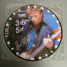"Dave Edmunds Information Mint Promo Only 12"" Picture Disc With Mint Envelope Slv"