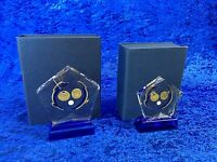 Glass Bowls Boxed Award Competition Trophy New - Slight Seconds - FREE Engraving