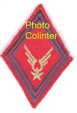 ALAT - Losange de bras Sous-Officier -  Couleurs de l'Artillerie - fond rouge
