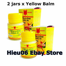 2 x Eagle Brand Yellow Balm 1.4 oz EXTERNAL ANALGESIC Ointment ache pain relief