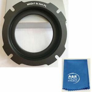 42 x1mm SLR Lens to Arri PL Camera Mount Adapter For Arriflex Lens m42x1