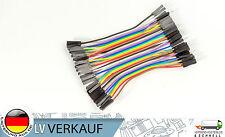 40Pin 8cm Jumper Kabel Pinkabel männlich nach weiblich für Arduino Raspberry Pi