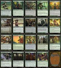 Elegant Elves | MTG Magic The Gathering Modern Mono Green 60 Card Elf Deck Lot