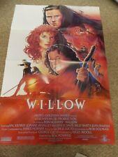 WILLOW(1988)VAL KILMER ORIGINAL 1 SHEET POSTER