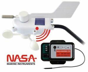 NASA - Kabelloser Windmessgeber ohne Anzeigegerät