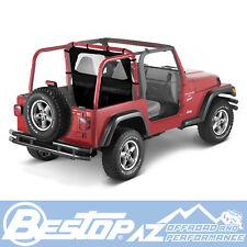 Bestop Windjammer 97-02 Jeep Wrangler TJ Black Denim 80030-15