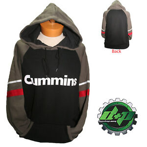 dodge cummins hoodie sweat shirt sweatshirt hooded sweater truck fleece LARGE