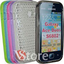 Cover Schutzhülle für Samsung Galaxy Ace Duos S6802 Silikon Gel