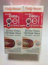 2 X Sally Hansen Insta Gel strips ( #490 HOORAY OMBRE ) NEW & SEALED.