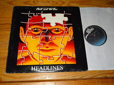 FLASH AND THE PAN - HEADLINES / US-PROMO-LP 1982