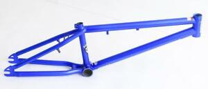 """20"""" Redline Recon BMX Bike Frame 20.5"""" TT Blue Steel New Blemished"""