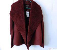 Cardigan Jacket by Grace Elements ~ Size Large ~ Wine