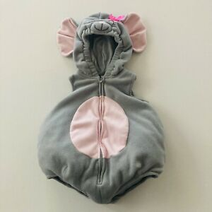 Carter's 6-9 Months Baby Girl Mouse Costume Halloween