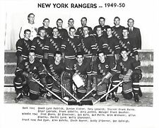 NEW YORK RANGERS 1949-50 TEAM NY 8X10 PHOTO HOCKEY NHL PICTURE