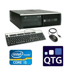 HP Gaming PC Core I5 Quad 8GB RAM 2 TB HDD GeForce GT 730 Windows 10 SFF DT
