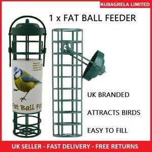WILD BIRD FAT BALL FEEDER - Garden Hanging seed nut peanut feeders suet