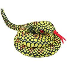"SNAKE Yellow Tiger Soft plush toy 11""/28cm stuffed animal NEW"