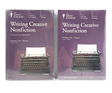 Great Courses Writing Creative Nonfiction 4 Dvd's Course Transcript + Guidebook