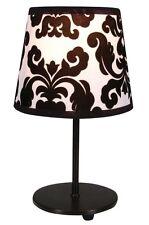 design lampe de lecture Noir table chevet éclairage NEUF
