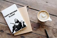 Game of Thrones The Hound Happy Birthday Card
