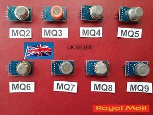 MQ 2 3 4 5 6 7 8 9 GAS SENSOR FOR ARDUINO UK SELLER VAT INVOICE