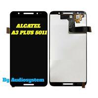 DISPLAY LCD+ TOUCH SCREEN ALCATEL A3 PLUS OT-5011 5011A NERO VETRO SCHERMO NUOVO
