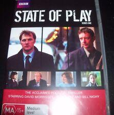 State Of Play Series Season One 1 (Australia Region 4) BBC DVD - New