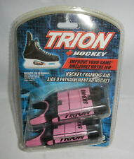 NIP Trion Hockey Adult Ice Skate Weights Training Aid SK8-W8 Pink & Black