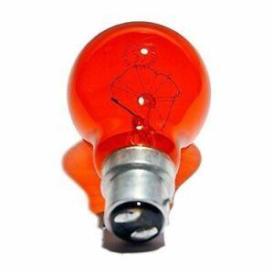 EVEREADY 40W & 60W Red Fireglow GLS Light Bulbs Bayonet BC B22 Flame Effects