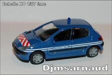 Peugeot 206 5 portes Gendarmerie éch HO 1/87 éme ANW SAI 2173
