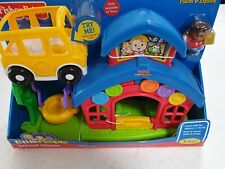 Fisher-Price Little People School House Brand New