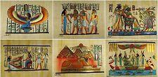 """WHOLESALE EGYPTIAN 20 PCS ORIGINAL HAND PAINTED PAPYRUS 8""""x12"""" ( 20x30 CM )"""
