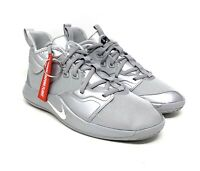 New Nike PG 3 NASA 50th (GS) Basketball Shoes Reflect Silver CI8973-001 Size 7Y