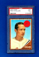 1962 Topps Baseball CARD #567 TRACY STALLARD HIGH NUMBER SHORT PRINT PSA 7.5 NM+