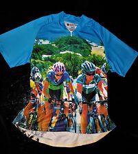 Women Racing Designer Cycling Jersey Bicycle Short Sleeve Top for Biking - 3XL