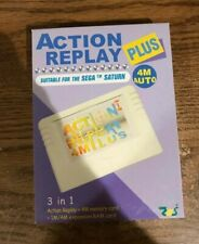 Sega Saturn Pseudo Saturn Kai Action Replay Plus Cartridge With Instructions