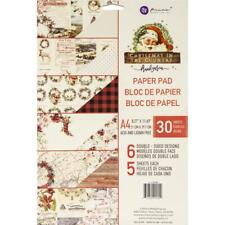 Prima Christmas Double-Sided Paper Pad 30/Pkg Motivblock Weihnachten A4 6Designs