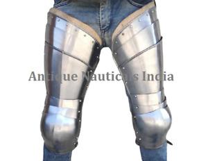 Medieval steel Plate Leg Armor for Medieval Reenactment & Fighting Sport