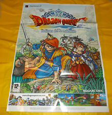 DRAGON QUEST L'ODISSEA DEL RE MALEDETTO - Poster cm 100 x 70 ○○○○○