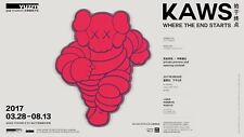 "KAWS' ""Where the End Starts"" YUZ Museum Shanghai Flyer 2017"