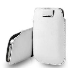 Etui / Housse Blanc avec tirette d'extraction pour Apple iPod Touch 5 / 6