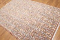 5' x 7' Hand knotted 100% Wool Rug Carpet Transitional 5 x 7 ft Brown