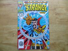 1993 VINTAGE MARVEL DR. STRANGE 50 PRISM COVER SIGNED BY GEOF ISHERWOOD WITH POA