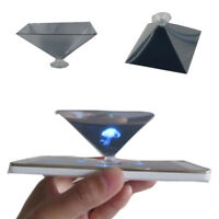3D Hologramm Display Pyramide Prisma Projekt für PC Tablet Handy Cool