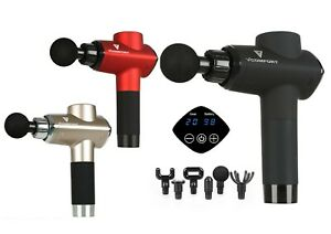 vComfort™ Deep tissue Relief Percussion Massage Gun ,6 Heads & 20 Gears