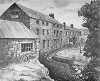 Art Postcard, Otterburn Mill, Northumberland 28i